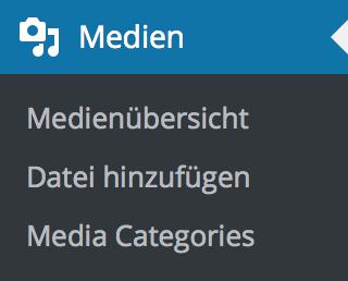 Medienübersicht